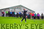 Castlegregory Golf Club: Captains Drive In on Sunday. Pictured Mike Mercer, Captain