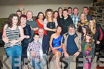 BIRTHDAY: Samantha Palmer, Kielduff, Tralee (seated centre) had a great time celebrating her 40th birthday last Saturday night in Kirby's Brogue, Tralee surrounded by family and friends.
