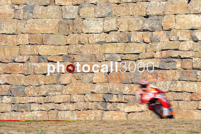 Gran Premio Movistar de Aragón<br /> during the moto world championship in Motorland Circuit, Aragón<br /> marc marquez<br /> PHOTOCALL3000