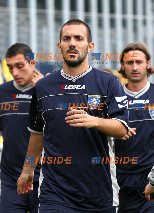 Frosinone 16-09-2006 Stadio Comunale,Serie B Tim:Frosinone-Arezzo 0-0<br /> Nella foto Massimo Margiotta Frosinone<br /> Photo Serena Cremaschi Inside