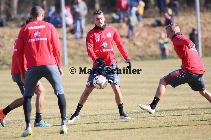 Luca Waldschmidt und Sonny Kittel (Eintracht) - Eintracht Frankfurt Training, Commerzbank Arena