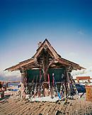 ARGENTINA, Bariloche, Cerro Cathedral, ski equipments arranged by ski resort