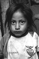 The face of poverty in Quito, Ecuador. From assignment for 'Children International'  December 2010