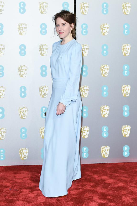 Gemma Whelan<br /> arriving for the BAFTA Film Awards 2019 at the Royal Albert Hall, London<br /> <br /> ©Ash Knotek  D3478  10/02/2019