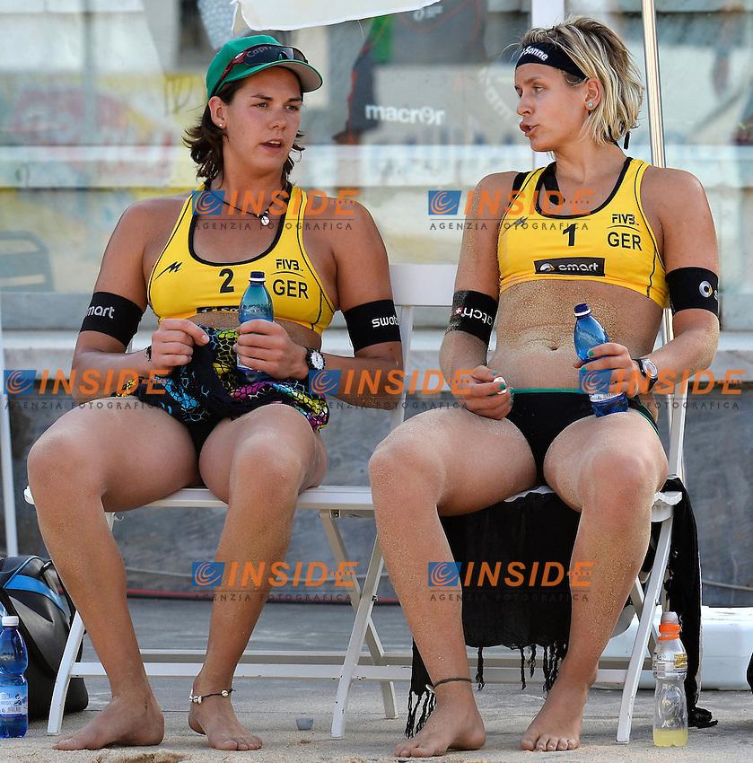 Walkenhorst / Ludwig Germany <br /> Roma 21/6/2013 Foro Italico <br /> FIVB Beach Volleyball World Tour <br /> Men's smart Grand Slam Rome 2013<br /> Foto Andrea Staccioli Insidefoto