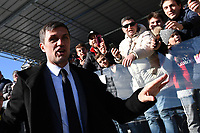 Former AC Milan player Paolo Maldini waves fans ahead the Serie A 2018/2019 football match between Frosinone and AC Milan at stadio Benito Stirpe, Frosinone, December, 26, 2018 <br />  Foto Andrea Staccioli / Insidefoto