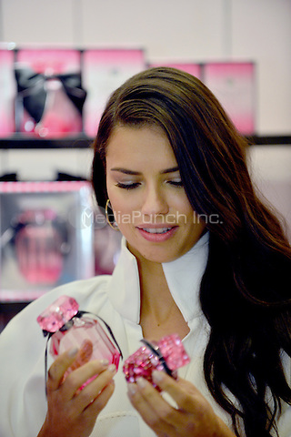 MIAMI BEACH, FL - APRIL 28: Adriana Lima attends Victoria's Secret Bombshell Fragrance launch event at Victoria's Secret store on Lincoln Road on April 28, 2016 in Miami Beach, Florida. Credit: MPI10 / MediaPunch