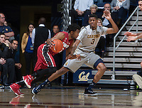 Berkeley, CA - January 14, 2015: California Golden Bears' 59-69 loss against Stanford Cardinal during NCAA Men's Basketball game at Haas Pavilion.