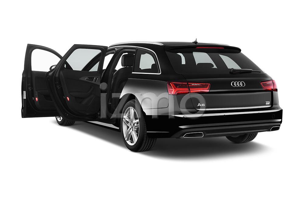 Car images close up view of 2015 Audi A6 S Line 5 Door Wagon doors