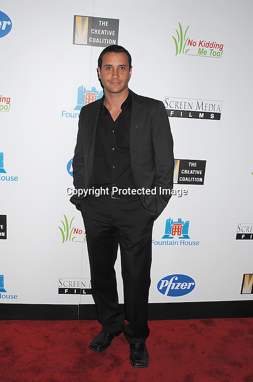 "Paul Lasa, actor in the movie..posing for photographers at The New York Premiere of ..""Canvas"" starring Marcia Gay Harden and Joe Pantoliano..on October 9, 2007 at The French Institute. ....photo by Robin Platzer, Twin Images....212-935-0770"