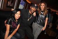 NEW YORK, NY - SEPTEMBER 26:..Julissa Bermudez, DJ Clue & Adrienne Bailon attend the NBA 2K13 Premeire at 40/40.....© Walik Goshorn / Retna Ltd. /MediaPunch Inc. /NortePhoto
