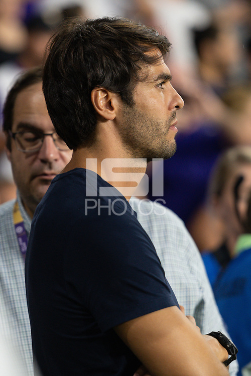 Orlando, FL - Wednesday July 31, 2019:  Kaka prior to an Major League Soccer (MLS) All-Star match between the MLS All-Stars and Atletico Madrid at Exploria Stadium.