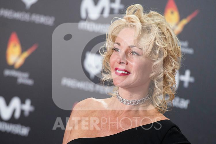 Belen Rueda attends red carpet of Feroz Awards 2018 at Magarinos Complex in Madrid, Spain. January 22, 2018. (ALTERPHOTOS/Borja B.Hojas)