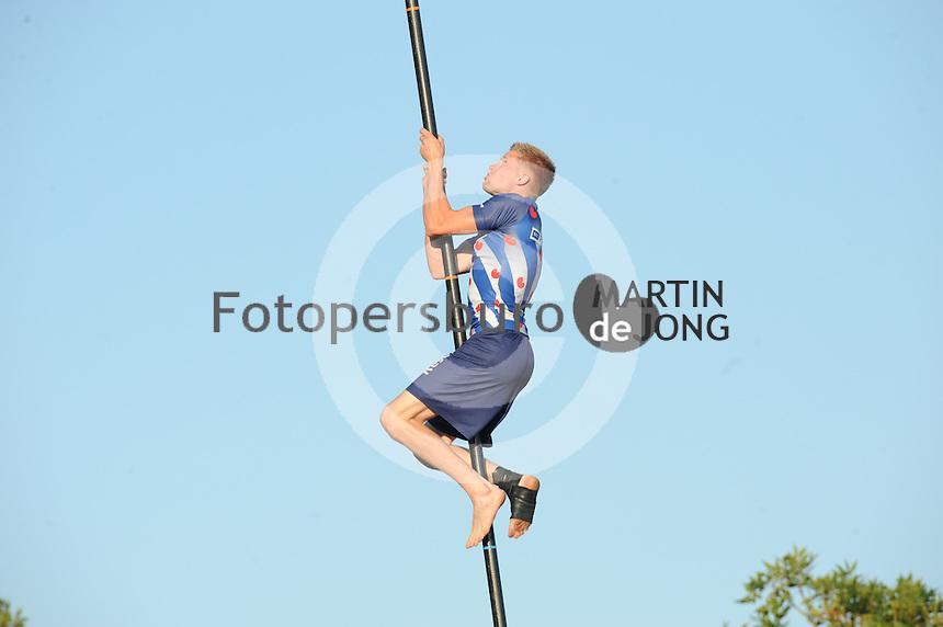 FIERLJEPPEN: IJLST: 07-08-2014, ©foto Martin de Jong