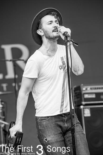 Will Horton of The Black Cadillacs performs at the 2014 Bunbury Music Festival in Cincinnati, Ohio