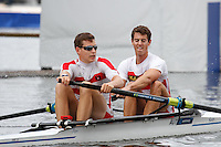 Race 4  -  Event: Goblets  -   Berks: 540 M. Kohlmayr &amp; J. Auerbach, AUT  -   Bucks: 544 A.W. Webb &amp; P.D.K. Robinson<br /> <br /> Thursday - Henley Royal Regatta {iptcyear4}<br /> <br /> To purchase this photo, or to see pricing information for Prints and Downloads, click the blue 'Add to Cart' button at the top-right of the page.