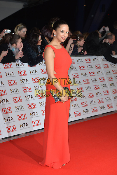 LONDON, ENGLAND - JANUARY 21: Natalie Gumede attends the National Television Awards at o2 Arena, Greenwich, London on January 21, 2015 in London, England<br /> CAP/PL<br /> &copy;Phil Loftus/Capital Pictures