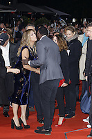 Rita Wilson and Omar Sy attending the &quot;Inferno&quot; premiere held at CineStar, Sony Center, Potsdamer Platz, Berlin, Germany, 10.10.2016. <br /> Photo by Christopher Tamcke/insight media /MediaPunch ***FOR USA ONLY***