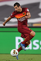 Henrikh Mkhitaryan of AS Roma in action during the Serie A football match between AS Roma and ACF Fiorentina at stadio Olimpico in Roma (Italy), July 26th, 2020. Play resumes behind closed doors following the outbreak of the coronavirus disease. <br /> Photo Antonietta Baldassarre / Insidefoto