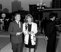 FILE PHOTO - <br /> Fournier a <br /> l'ouverture du Festival des Films du Monde, a la Place des arts, le 25 aout 1994.<br /> <br /> PHOTO : Pierre Roussel<br />  - Agence Quebec Presse