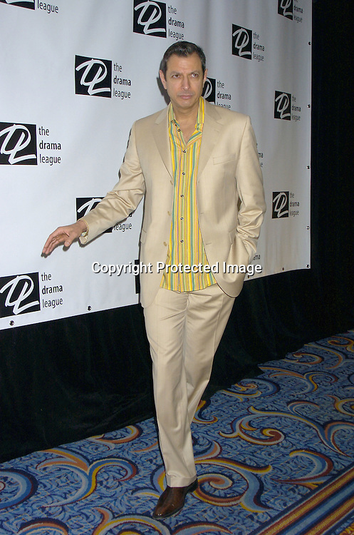 Jeff Goldblum of Pillowman ..at the 71st Annual Drama League Awards Luncheon on ..May 13, 2005 at the Marriott Marquis Hotel. ..Photo by Robin Platzer, Twin Images
