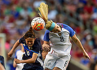 Cleveland, Ohio - June 5, 2016: The USWNT go up 2-0 over Japan during second half play in an international friendly at FirstEnergy Stadium.