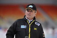 SPEEDSKATING: SOCHI: Adler Arena, 19-03-2013, Training, Markus Eicher (Chef-Bundestrainer Eisschnelllauf), © Martin de Jong