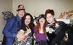 Guiding Light Sean McDermott, General Hospital Jackie Zeman & Carolyn Hennesy holding Jane Elissa bags and pose with Designer Jane Elissa who donates moneys to Leukemia/Lymphoma at Romantic Times Booklovers Annual Convention 2011 - The Book Industry Event of the Year - April 8, 2011 at the Westin Bonaventure, Los Angeles, California for readers, authors, booksellers, publishers, editors, agents and tomorrow's novelists - the aspiring writers. (Photo by Sue Coflin/Max Photos)