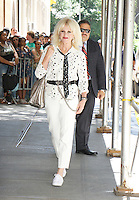 NEW YORK, NY-July 19:  Joanna Lumley at the View to talk about Absolutely Fabulous: The Movie in New York. NY July 19, 2016. Credit:RW/IMediaPunch