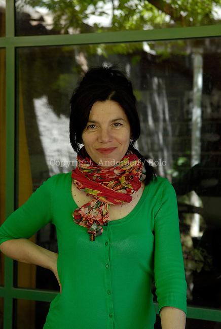 Brigitte Giraud, French writer in 2011.