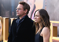 """11 January 2020 - Westwood, California - Robert Downey Jr., Susan Downey. Premiere Of Universal Pictures' """"Dolittle"""" held at the Regency Village Theatre. Photo Credit: Billy Bennight/AdMedia"""