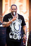© Joel Goodman - 07973 332324 . . 12/06/2016 . Manchester , UK . Busta Rhymes performs on the Ram Jam stage at the Parklife music festival at Heaton Park in Manchester . Photo credit : Joel Goodman