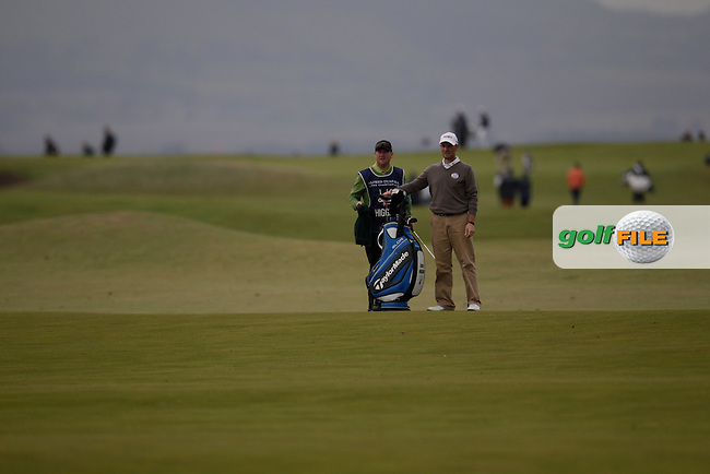 David Higgins (IRL) on day two of the Alfred Dunhill links Championship Old Course, St Andrews, Fife, Scotland.<br /> Picture Fran Caffrey www.golffile.ie