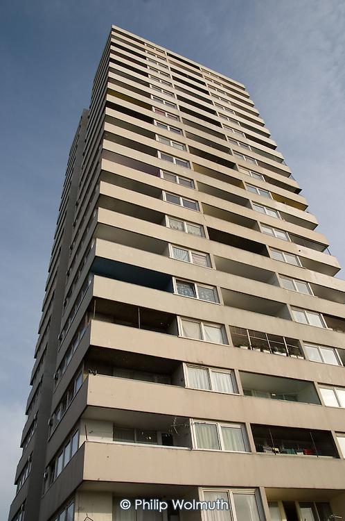 Bacton Tower on Camden Council's Gospel Oak Estate
