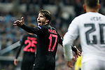 Paris Saint-Germain´s Maxwell reacts during Champions League soccer match between Real Madrid  and Paris Saint Germain at Santiago Bernabeu stadium in Madrid, Spain. November 03, 2015. (ALTERPHOTOS/Victor Blanco)