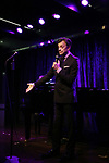 Jim Caruso performing onstage at Birdland Theater during the Media Open House Cocktail Party at the Birdland Theater on September 20, 2018 in New York City.