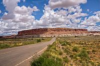 Old Route 66 near Laguna Pueblo in New Mexico.