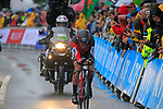 Greg Van Avermaet (BEL) BMC Racing Team in action during Stage 1, a 14km individual time trial around Dusseldorf, of the 104th edition of the Tour de France 2017, Dusseldorf, Germany. 1st July 2017.<br /> Picture: Eoin Clarke | Cyclefile<br /> <br /> <br /> All photos usage must carry mandatory copyright credit (&copy; Cyclefile | Eoin Clarke)