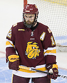 Jack Connolly (Duluth - 12) - The University of Minnesota-Duluth Bulldogs defeated the Union College Dutchmen 2-0 in their NCAA East Regional Semi-Final on Friday, March 25, 2011, at Webster Bank Arena at Harbor Yard in Bridgeport, Connecticut.