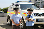 Members of the Irish Coast Guard Drogheda Unit paid a visit to Mt Hanover N.S. for there water safety and awareness talk..Picture Fran Caffrey/Newsfile.ie