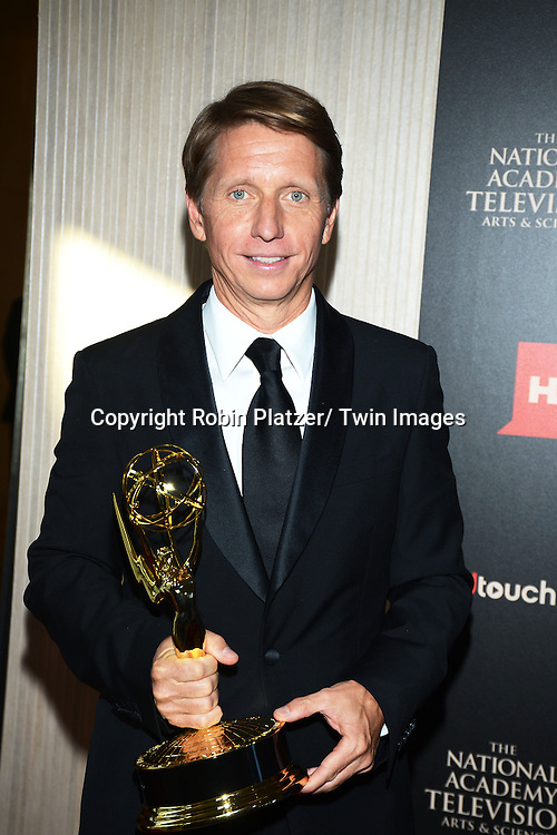 winner Bradley Bell attends The 40th Annual Daytime Emmy Awards on<br />  June 16, 2013 at the Beverly Hilton Hotel in Beverly Hills, California.