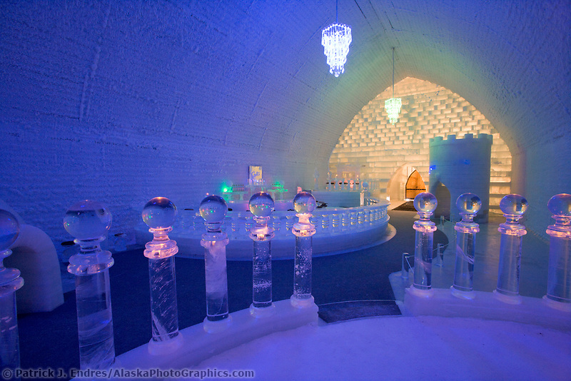 Aurora Ice Hotel, Chena Hot Springs Resort, Alaska