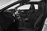 Front seat view of a 2015 Mercedes Benz CLA Class 220 AMG line 5 Door Wagon front seat car photos