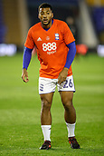 1st November 2017, St. Andrews Stadium, Birmingham, England; EFL Championship football, Birmingham City versus Brentford; David Davis of Birmingham City warms-up prior to the match