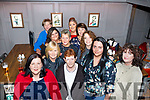 The Fatama Home, Tralee staff enjoying their Xmas party in No4 the Square, Tralee on Friday night last. Breda McAullife, Bridget Dowling, Marion Long, Mary Crean, Karen Best, Sandra Moriarthy, Teresa Griffin, Sinead Mangan, Cecile Penderville, Mary devane and Aoife McAullife.