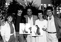 June 10, 1985 File Photo  - Claude Dubois album launch.