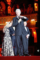 "Former US President Bill Clinton (M), Franca Sozzani, Nicholas Ofczhrik and Ben Becker attending the ""20th Life Ball"" AIDS Charity Gala 2012 held at the Vienna City Hall. Vienna, Austria, 19th May 2012...Credit: Wendt/face to face /MediaPunch Inc. ***FOR USA ONLY**"