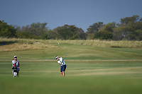 Brooke M. Henderson (CAN) hits her approach shot on 2 during the round 3 of the Volunteers of America Texas Classic, the Old American Golf Club, The Colony, Texas, USA. 10/5/2019.<br /> Picture: Golffile   Ken Murray<br /> <br /> <br /> All photo usage must carry mandatory copyright credit (© Golffile   Ken Murray)