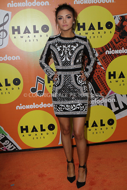 WWW.ACEPIXS.COM<br /> <br /> November 14 2015, New York City<br /> <br /> Daniela Nieves attending the 2015 Halo Awards at Pier 36 on November 14, 2015 in New York City<br /> <br /> By Line: Nancy Rivera/ACE Pictures<br /> <br /> <br /> ACE Pictures, Inc.<br /> tel: 646 769 0430<br /> Email: info@acepixs.com<br /> www.acepixs.com