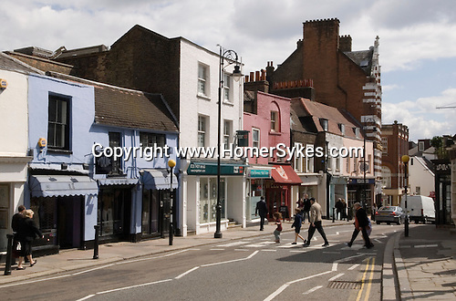 Heath Street,  Hampstead village, London NW3. England 2006.
